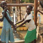 Drop in the Bucket Uganda water well Goan Quarters community borehole25