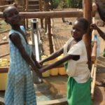 Drop in the Bucket Uganda water well Goan Quarters community borehole26