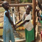 Drop in the Bucket Uganda water well Goan Quarters community borehole28