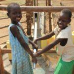 Drop in the Bucket Uganda water well Goan Quarters community borehole29