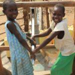 Drop in the Bucket Uganda water well Goan Quarters community borehole30