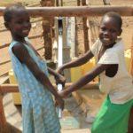 Drop in the Bucket Uganda water well Goan Quarters community borehole31