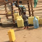 Drop in the Bucket Uganda water well Goan Quarters community borehole32